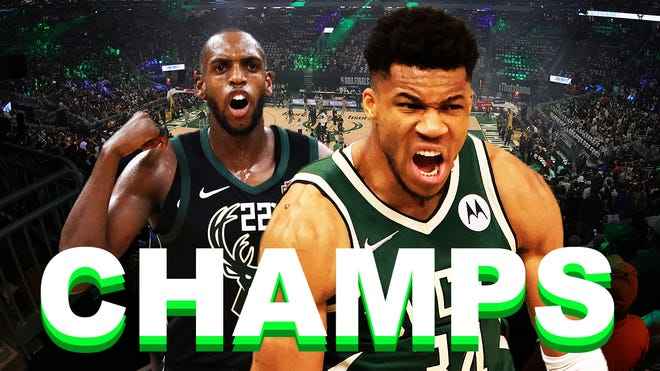 Bucks Defeated the Suns to win their first NBA Title in 50 years