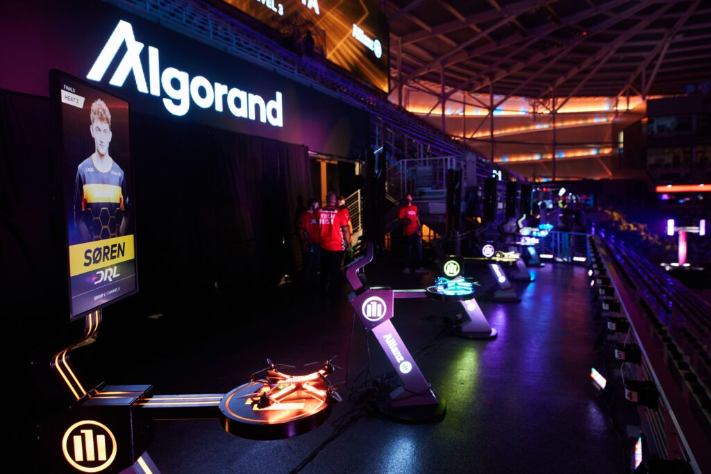 Drone Racing League signs $ 100 million deal with crypto platform Algorand